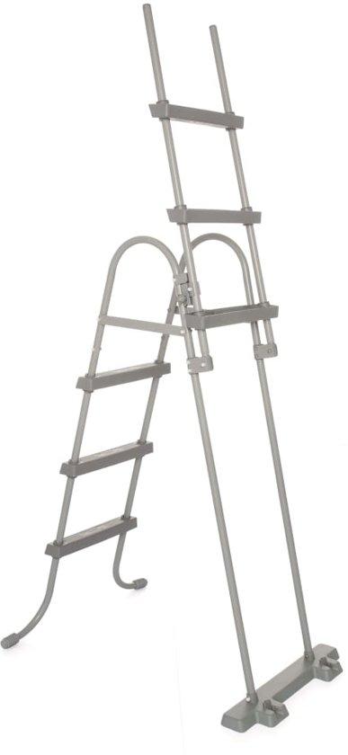 Bestway Power Steel Zwembadset ovaal 427x250x100 cm 56620