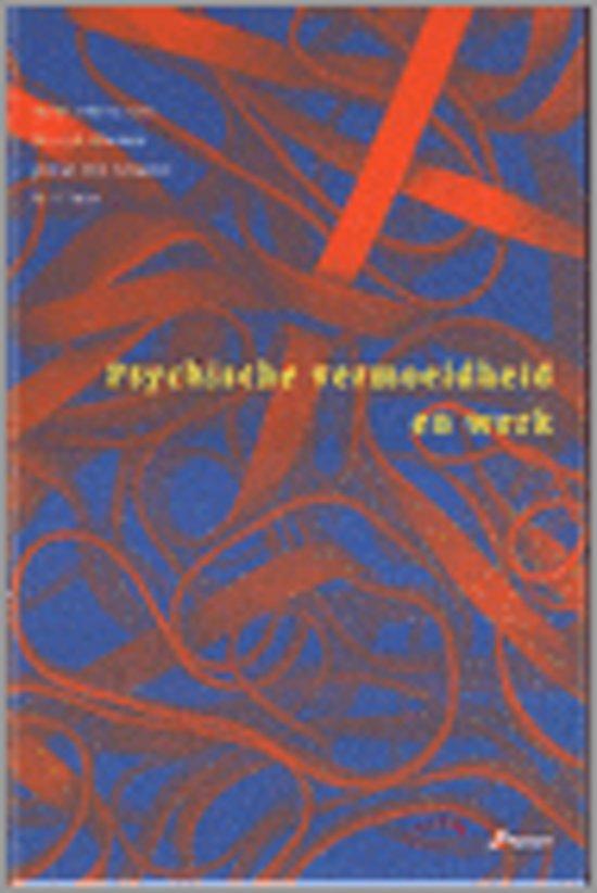 Psychische vermoeidheid en werk