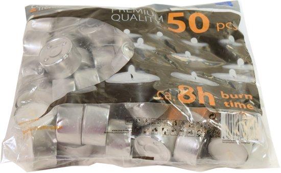 Cosy & Trendy Waxinelichtjes - 8 Uren - 50 stuks