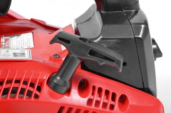 Hecht 25 Tophandle kettingzaag met 1,2 pk 30cm zaagblad Hecht Pro Qualitat