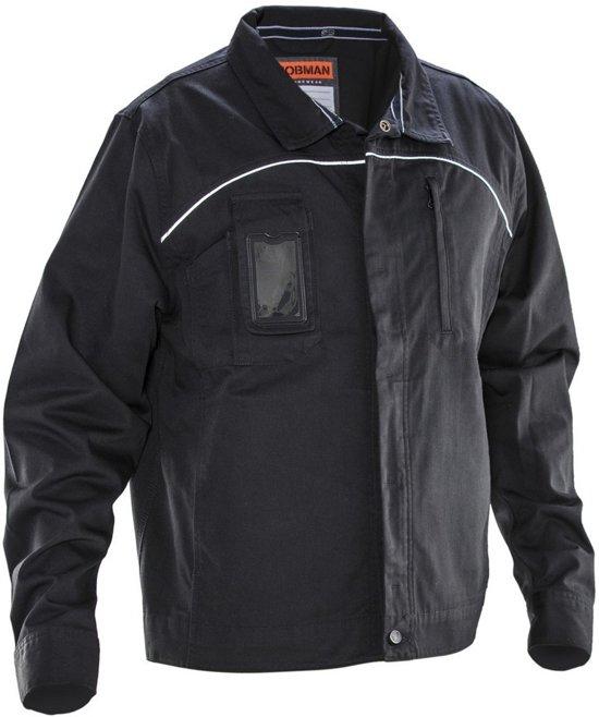 Jobman 1321 Service Jacket Zwart/Wit maat XL