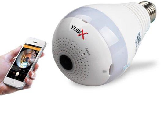 bol.com | Spy bewakingscamera Wifi IP camera verborgen in lamp 1080P ...