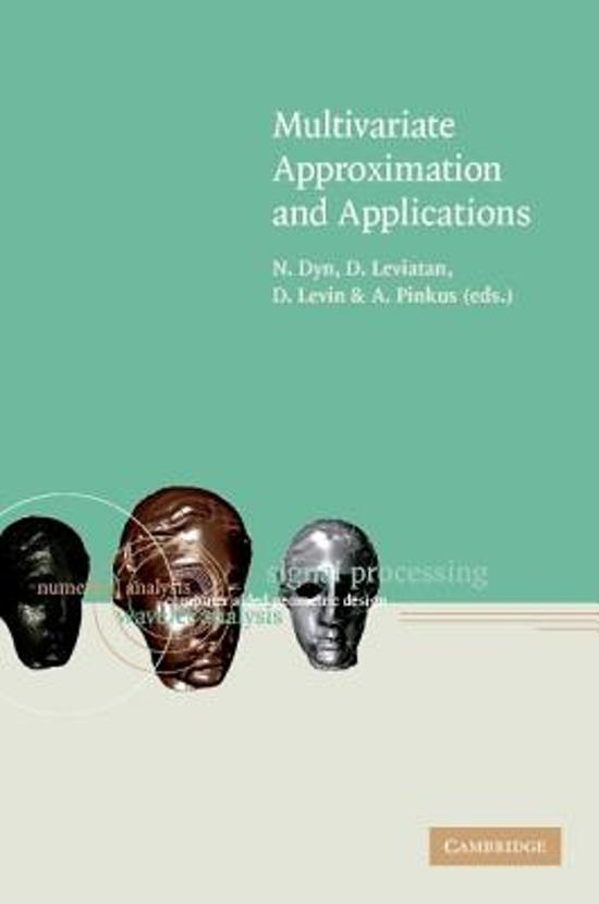 Multivariate Approximation and Applications