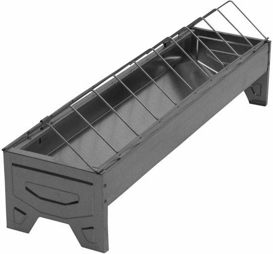 Pluimveevoerbakken verzinkt 50 centimeter