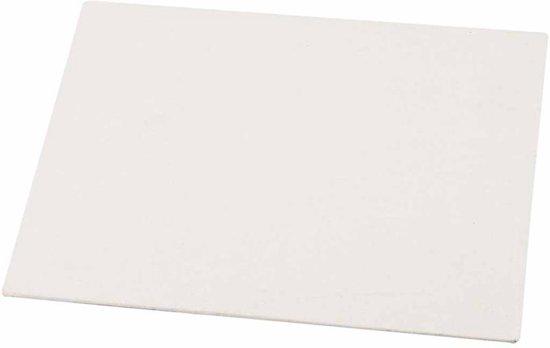 Canvas Paneel, A4 21x30 cm, dikte 3 mm, 10 stuks