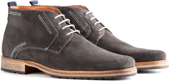 Chaussures Travelin Gris Foncé Pour Les Hommes SiHGOYQP