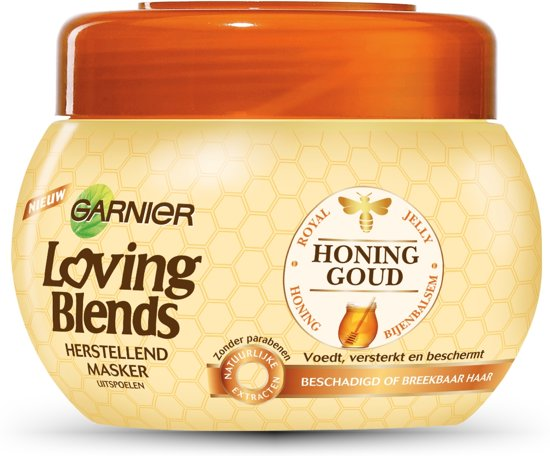 Garnier Loving Blends Honinggoud Haarmasker - 300 ml