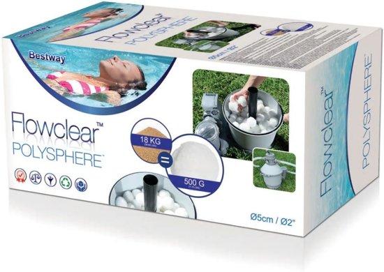 Bestway Flowclear polysphere Filterballen 500 g 58475
