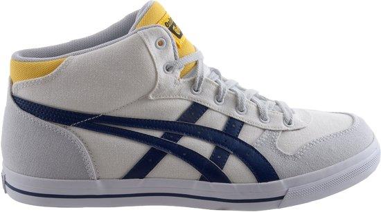 a776e895490 bol.com | Asics Aaron MT CV - Sneakers - Mannen - Maat 37.5 - Wit/Grijs