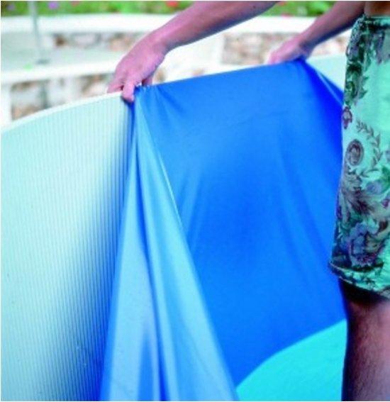 Gre Liner rond overlap blauw 450 x 90 cm