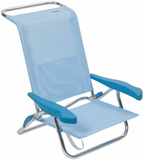 Crespo Strandstoel Aanbieding.Crespo Strandstoel Al 222 Blauw 15