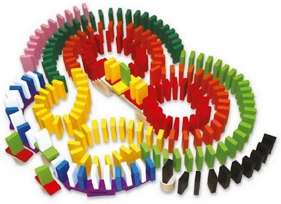 Afbeelding van Dominoset 560 Delig - Meerkleurige Dominostenen speelgoed