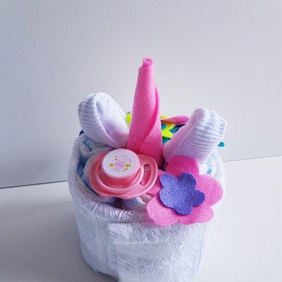 Luiertaart  Babyshower Unicorn | Kraamcadeau | Kraampakket | Baby Cadeau