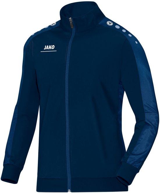Jako Striker Polyester Trainingsjas Heren Trainingsjas - Maat L  - Mannen - blauw