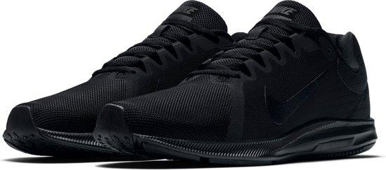 Nike Downshifter 7 Hardloopschoenen Heren Hardloopschoenen - Maat 44 - Mannen - zwart