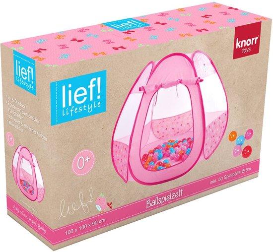 Lief! Lifestyle Ballenbad Meisjes Roze