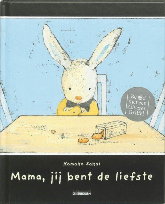 Cover van het boek 'Mama, jij bent de liefste' van K. Sakai
