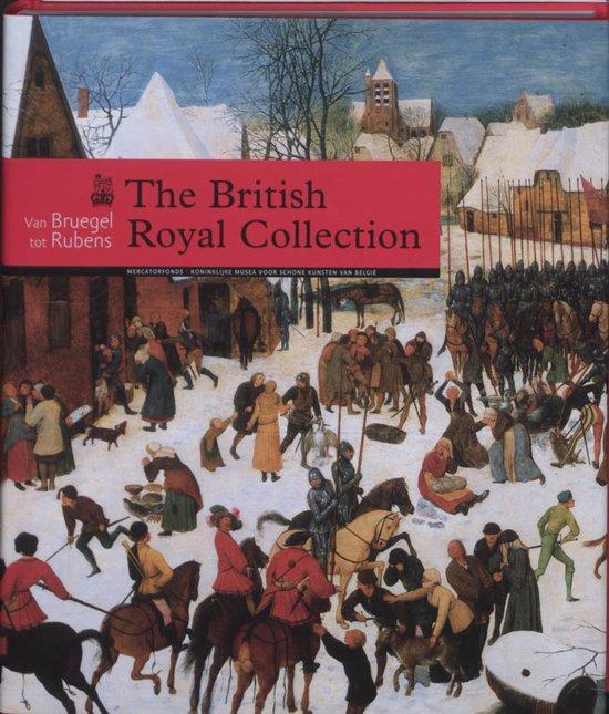 Cover van het boek 'The British royal collection'