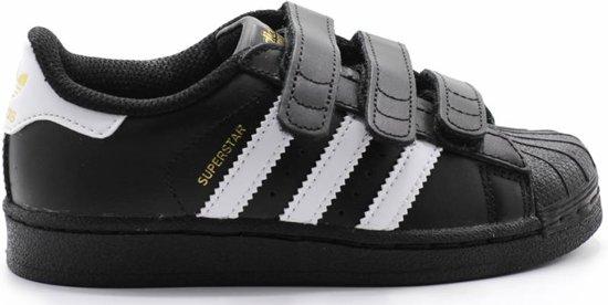 4f65332ad3f bol.com | Adidas Jongens Sneakers Superstar Cf C - Zwart - Maat 34