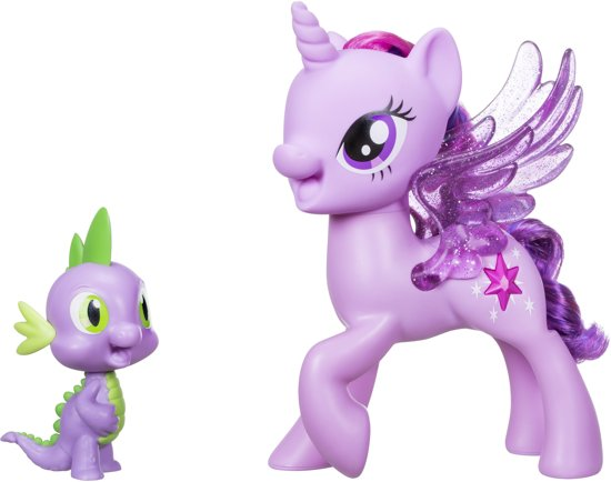 My Little Pony De Film Twilight Sparkle & Spike Duet - 18 cm