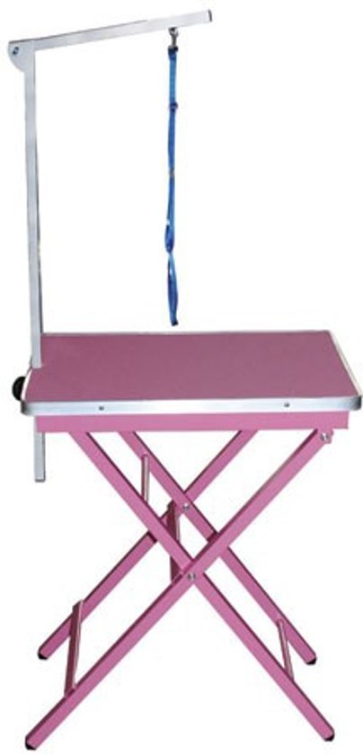 Trimtafel - Showtafel - Ringside - Roze