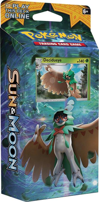 Afbeelding van het spel Pokémon: Sun & Moon Theme Deck Forest Shadow