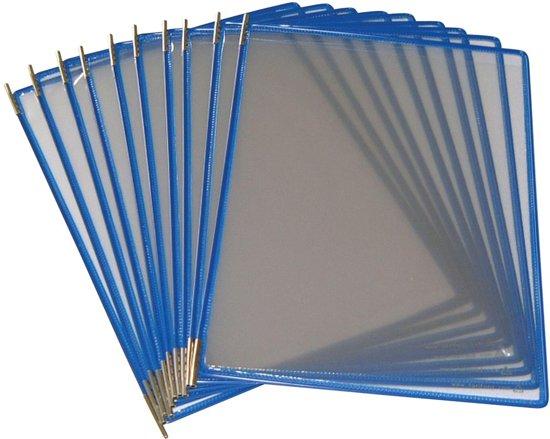 2x Tarifold tas t-display blauw
