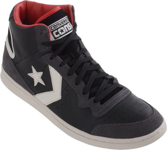 452bf615e82 Converse Fast Break LP Mid Sneakers - Maat 41 - Unisex - Zwart/Grijs/