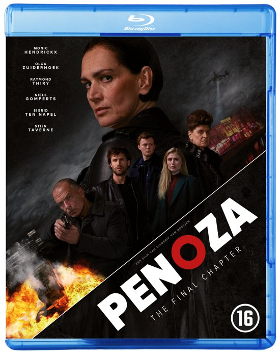 DVD cover van Penoza: The Final Chapter (Blu-ray)