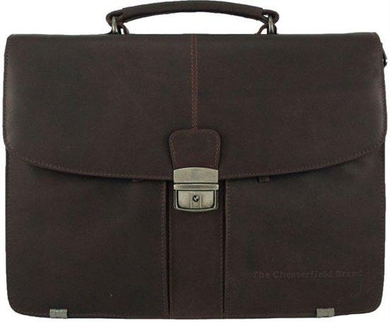 Chesterfield George 0128 Laptoptas Brown