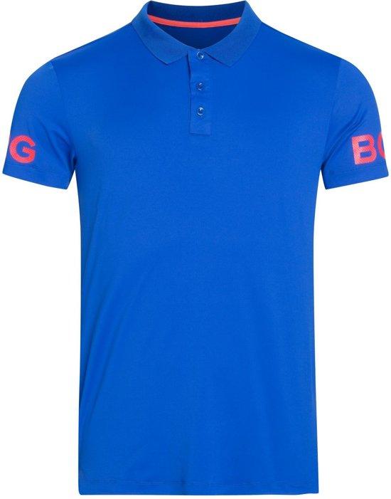 Bjorn Borg Tennis polo Borg sportpolo - blauw - maat M