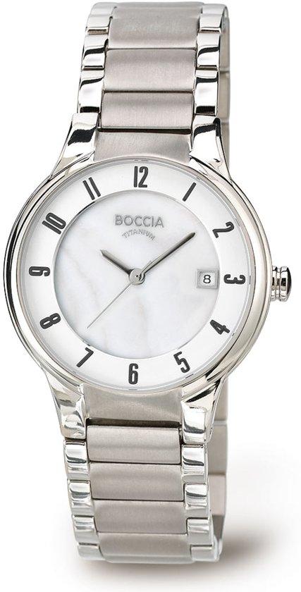 Boccia Titanium 3228-01 Horloge - Titanium - Zilverkleurig - 30 mm