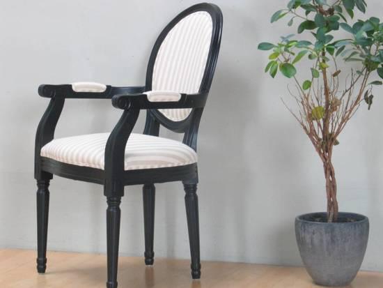 Zwarte Barok Stoel : Bol.com rococo barok stoel met armleuning zwart zandkleur