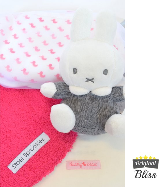 Kraamcadeau pakket - Babybox - Babydoos -Kraambox - Kraamdoos - Meisje