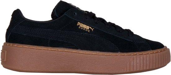2f29b597a96 bol.com   Puma Sneakers - Maat 31 - Unisex - zwart/goud
