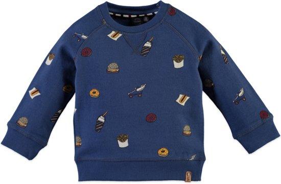Babyface Jongens Sweatshirt - Blauw - Maat 98