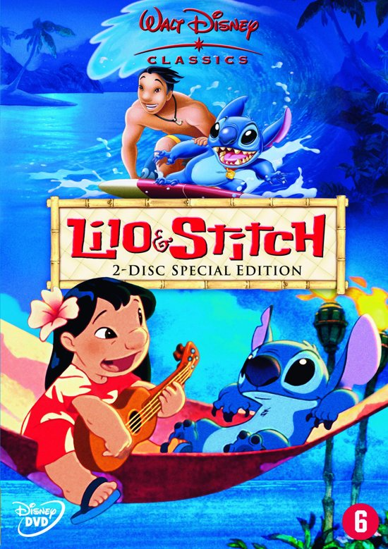 DVD cover van Lilo & Stitch (S.E.)