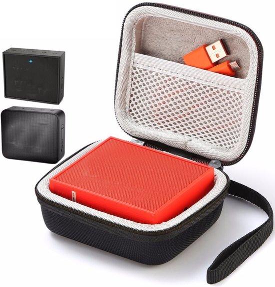 Afbeelding van Hard Cover Opberghoes Voor JBL Go 1/2 - Beschermhoes Travel Case Hoes Opbergtas