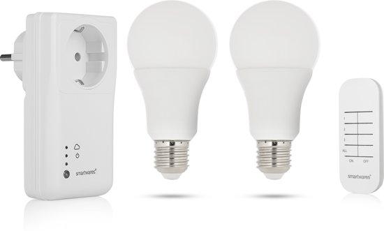 Lampen Op Afstandsbediening : Bol.com smartwares sh4 99954 smart switch set incl. 2 dimbare