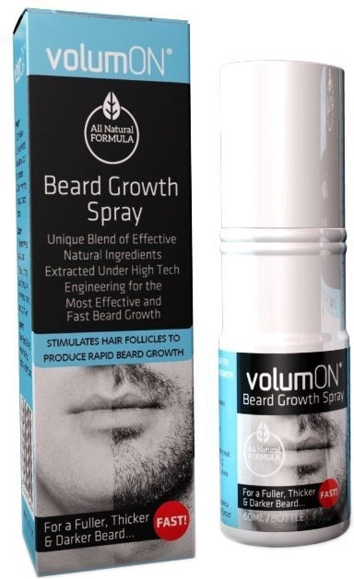 Volumon Beard Growth Spray voor meer Baardgroei