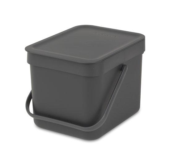 Brabantia Sort & Go 6 Liter Grey