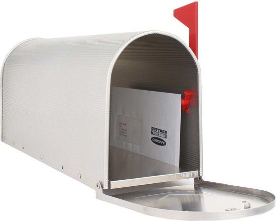 Bol.com amerikaanse brievenbus us mailbox zilver aluminium