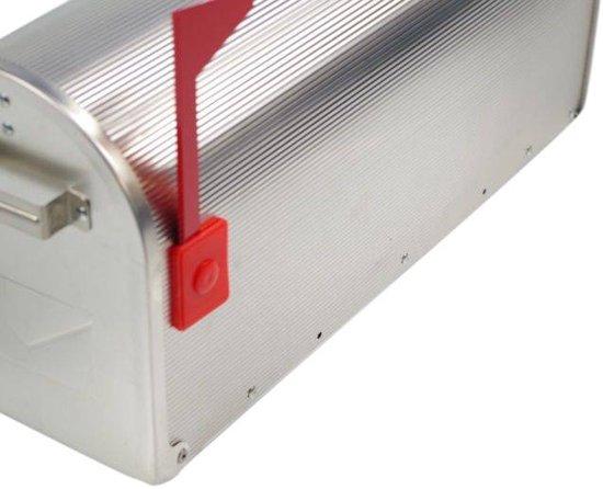 Amerikaanse brievenbus / US-MAILBOX (Zilver) (aluminium)
