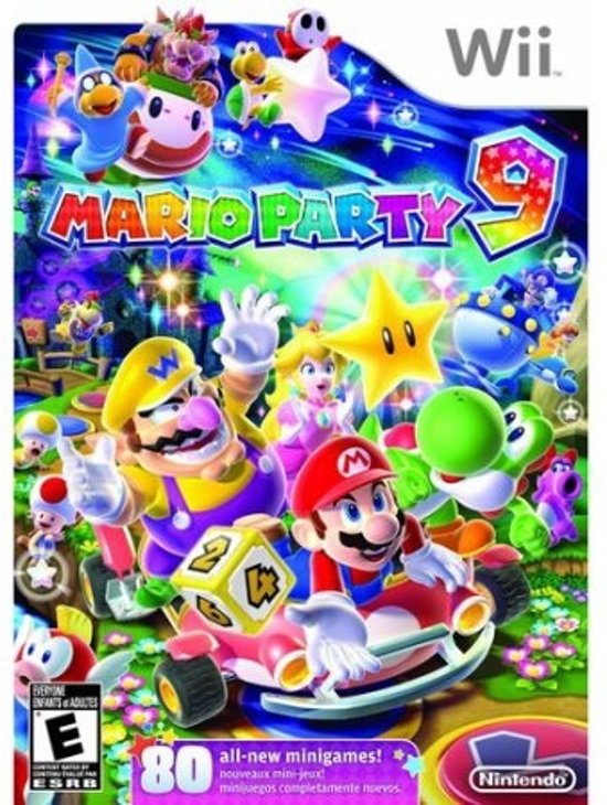 Mario Party 9 - Nintendo Selects - Wii