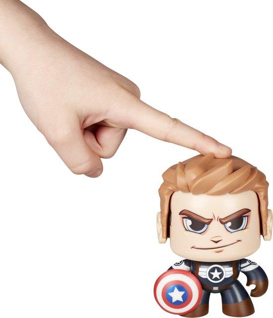 Marvel Mighty Muggs Captain America - Actiefiguur