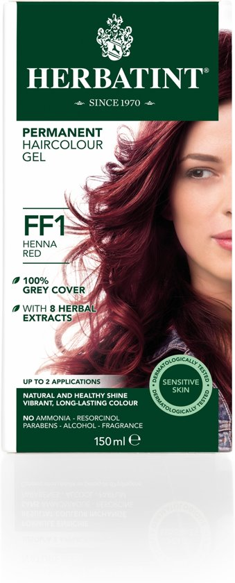 Herbatint FF1 Flash Fashion Henna Red (150 milliliter)