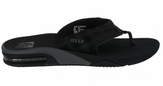 Pantoufles Récif Noir RhnyPoWn7o