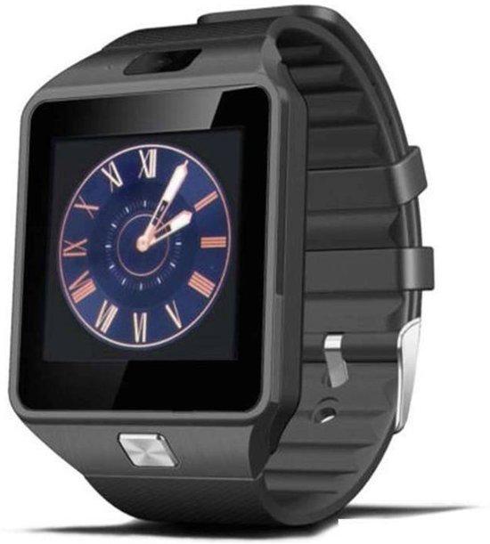 Originele DZ09 Smartwatch Smartphone Horloge Android Zwart