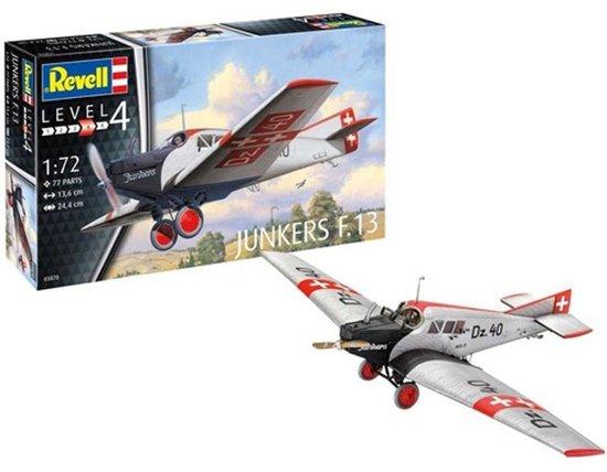REVELL 1:72 Model Set Junkers F13