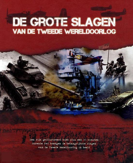 De grote slagen van de tweede wereldoorlog - Voorkant